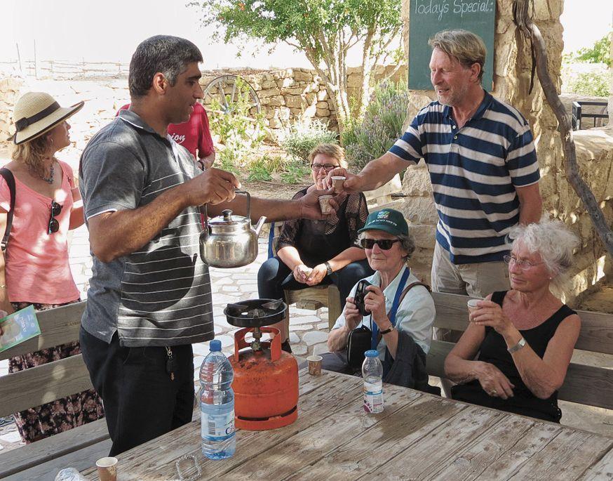 Gastfreundschaft erleben auf der Israel-Reise mit dem JNF-KKL