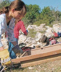Auch heute lernen Kinder und Jugendliche Umweltbewußtsein mit dem KKLng in Israel heute