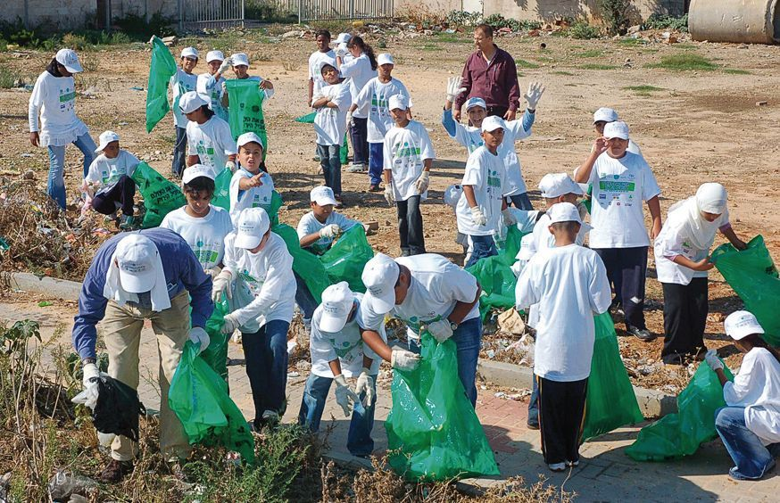 International Clean Up Day, Israel