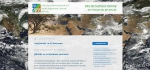 jnf-kkl.info Online Broschüre Keren Kayemeth LeIsrael, Jüdischer Nationalfonds e.V. Deutschland