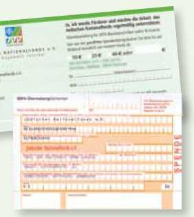 Klassische Spende an KKL-Deutschland per Überweisung