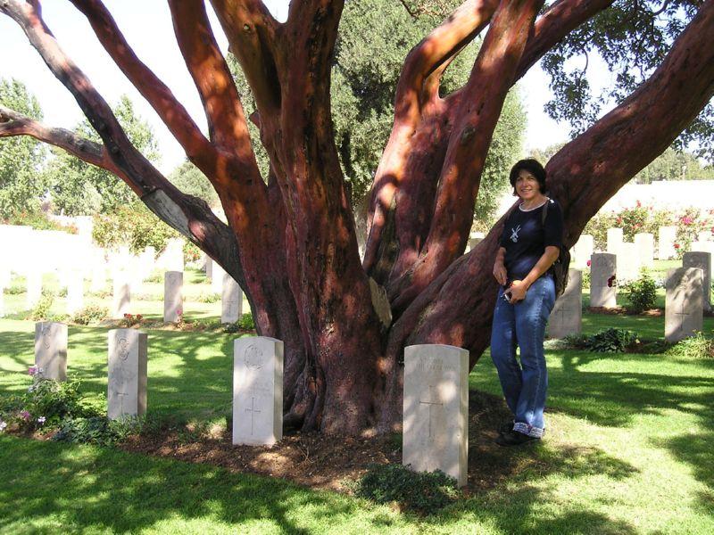 Mit dem JNF-KKL Deutschland auf Bildungsreise durch Israel, Besichtigung von Gedenksteinen