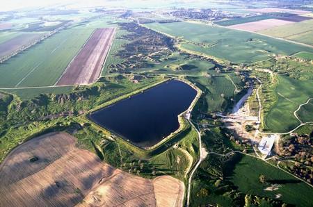 Wasserprojekt Nirim Reservoir