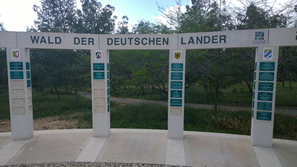 Begrünung durch KKL Deutschland