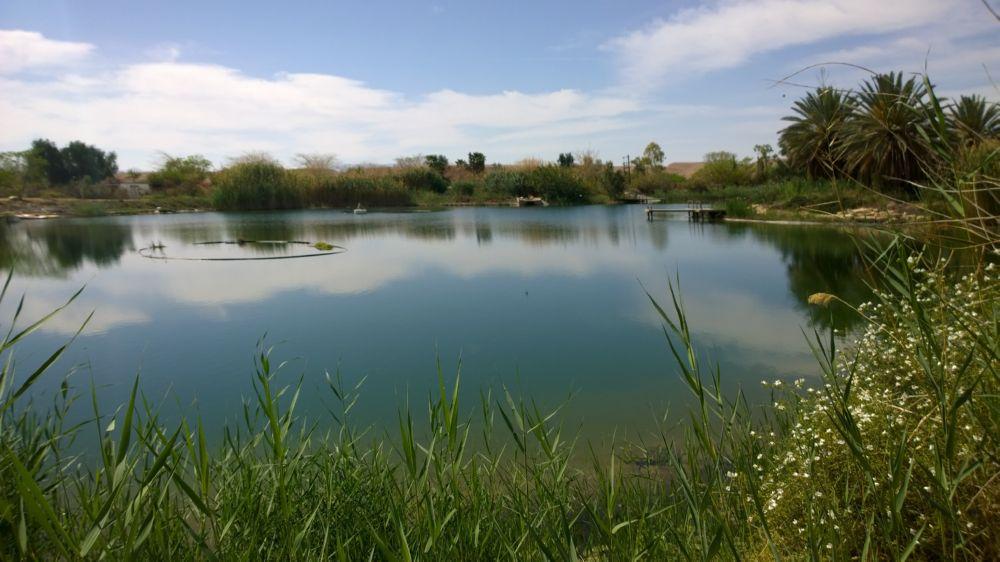 Ein See in der Wüste Negev: ein KKL Wasserprojekt