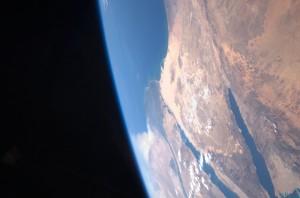 Israel aus dem Weltraum gesehen