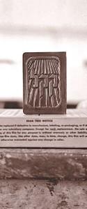 KKL-Stempel von 1929