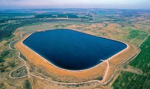 JNF-KKL: Das KKL Wasserreservoir Besor in der Wüste Negev, Israel
