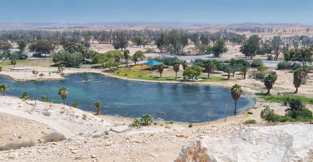 Der JNF-KKL begrünt Israel: Golda Meir Park in der Wüste Negev