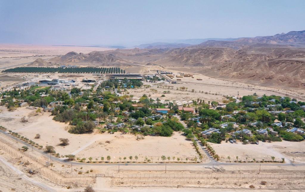 JNF-KKL Bodenbearbeitung beim Kibutz Yahel in der Arava-Senke