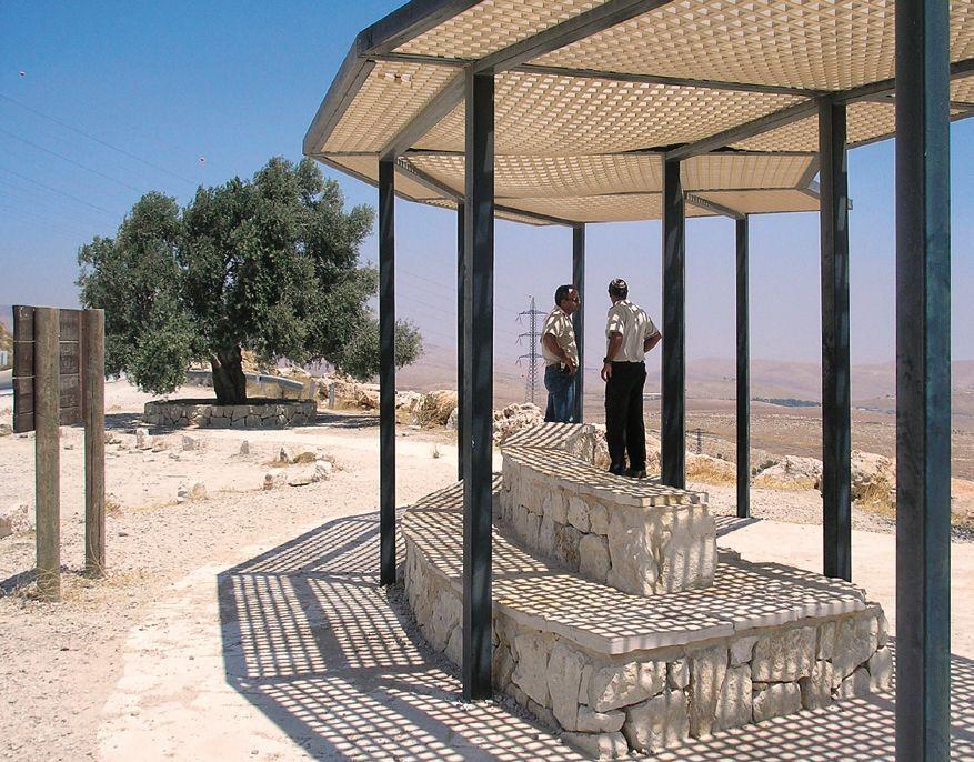 KKL Spendenprojekt Aussichtspunkt im Negev, Israel