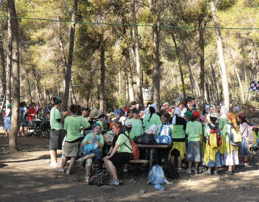 KKL-Deutschland: Spendenprojekt Picknickplatz