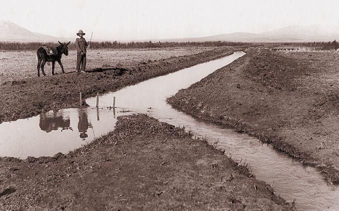 Das Jezreel-Tal nach dem Erwerb im Jahr 1920, www.jnf-kkl.de