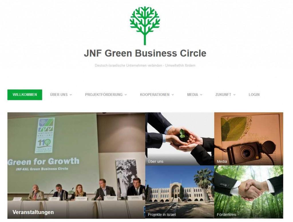 Austausch und Vernetzung im Bunsinessbereich: der JNF Green Business Circle JBC