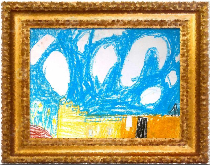 jnf-kkl malen mit kindern in neot semadar